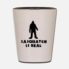 Sasquatch Is Real Shot Glass