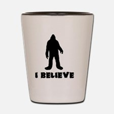 I Believe in Sasquatch Shot Glass