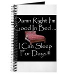 Good In Bed Journal