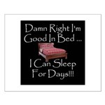 Good In Bed Small Poster