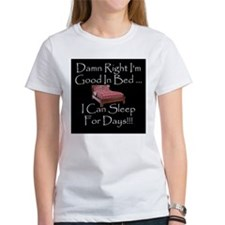 Good In Bed Tee