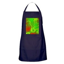 Neon Green and Red Apron (dark)