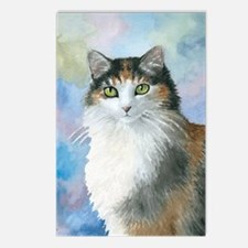 Cat 572 Calico Postcards (Package of 8)
