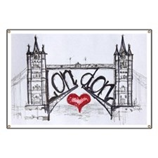 London with love Banner
