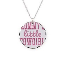 Mommys Little Cowgirl Necklace