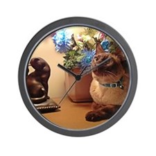 Tonkinese Cat I Wall Clock