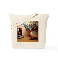Tonkinese Cat I Tote Bag
