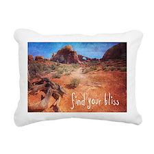 Find Your Bliss Rectangular Canvas Pillow