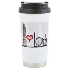 I love London Thermos Mug