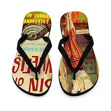 Sin On Wheels Flip Flops