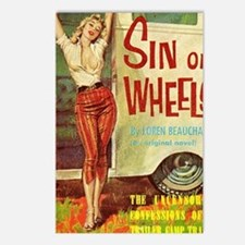 Sin On Wheels Postcards (Package of 8)