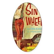 Sin On Wheels Decal