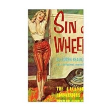 Sin On Wheels Bumper Stickers