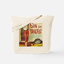 Sin On Wheels Tote Bag