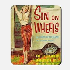 Sin On Wheels Mousepad