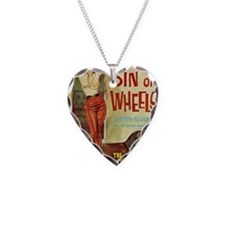 Sin On Wheels Necklace