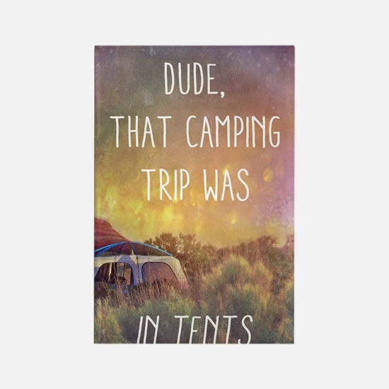 Camping Trip Rectangle Magnet