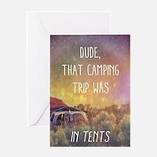 Camping Trip Greeting Card