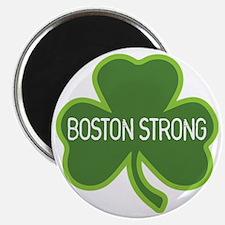 Boston Strong Shamrock Magnet