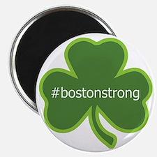 #bostonstrong shamrock Magnet