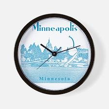 Minneapolis_10x10_SpoonbridgeAndCherry_ Wall Clock