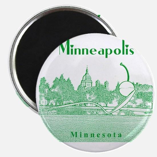 Minneapolis_10x10_SpoonbridgeAndCherry_v4_g Magnet