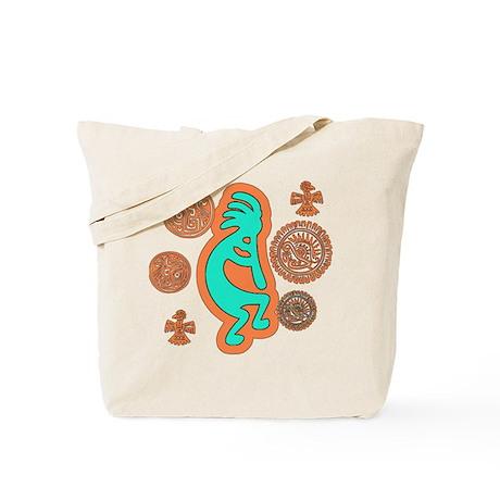 Southwest Kokopelli Tote Bag