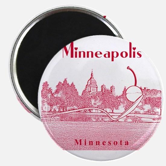 Minneapolis_10x10_SpoonbridgeAndCherry_v4_r Magnet