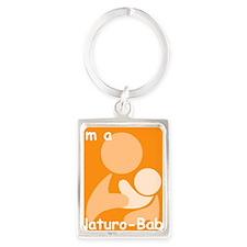 Babywear Portrait Keychain