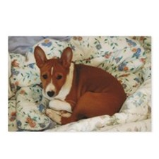 Cute Basenji Puppy Postcards (Package of 8)