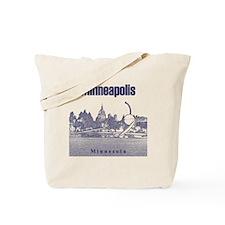 Minneapolis_10x10_SpoonbridgeAndCherry_v3 Tote Bag