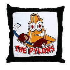 The Pylons Throw Pillow