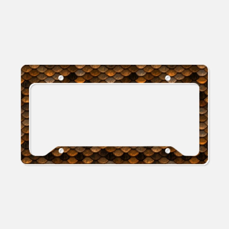 Bronze Licence Plate Frames Bronze License Plate Covers