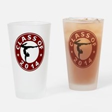Class Of 2014 Gymnastic Drinking Glass