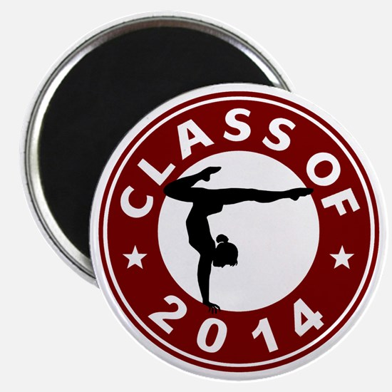 Class Of 2014 Gymnastic Magnet