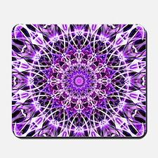Fly Away Purple mandala Mousepad
