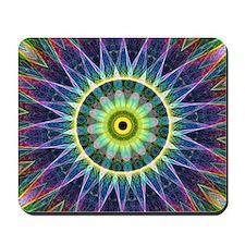 Flower Eye Mandala Mousepad