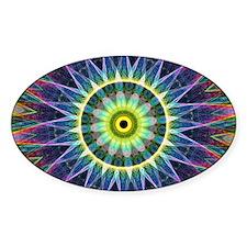 Flower Eye Mandala Decal