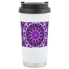 Fly Away Purple mandala Travel Mug