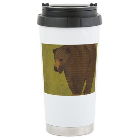 Storybook Bear Stainless Steel Travel Mug