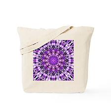 Fly Away Purple mandala Tote Bag