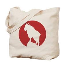 Great Northern Goat Red Tote Bag