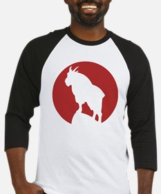 Great Northern Goat Red Baseball Jersey