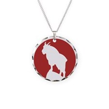 Great Northern Goat Red Necklace