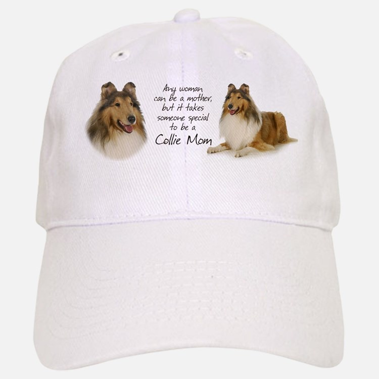 Collie Mom Baseball Baseball Cap