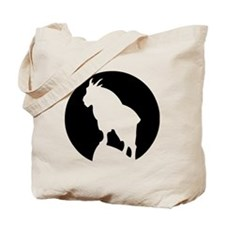 Great Northern Goat Black Tote Bag