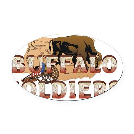buffsoldiersnm2b Oval Car Magnet