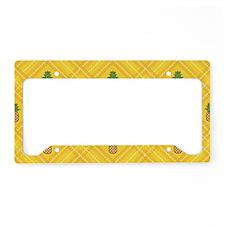 Pineapple License Plate Holder