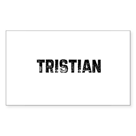Tristian Rectangle Sticker