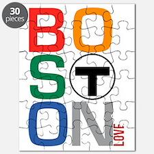 Boston Multi T Puzzle